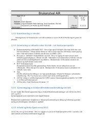 Referat Møte i brukarutvalet 9 januar 2013 - Rehabilitering.no