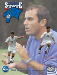 2006 MSO Media Guide Front.pmd - Georgia State University Athletics