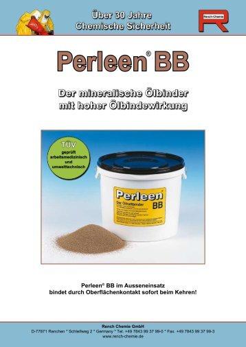 Perleen BB Prospekt - Rench Chemie GmbH