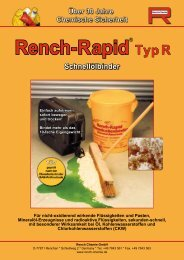 Rench-Rapid Typ R - Rench Chemie GmbH