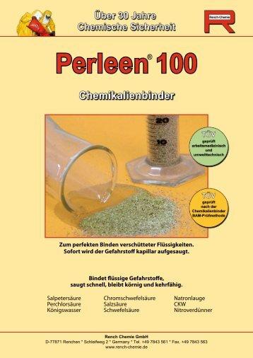 Perleen 100 Chemikalienbinder - Rench Chemie GmbH