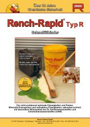 PDF-Download Rench-Rapid Typ R - Rench Chemie GmbH