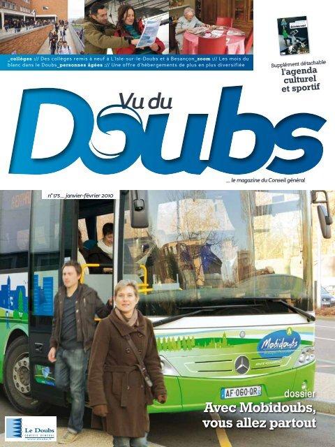 Avec Mobidoubs, vous allez partout - Vu du Doubs - Conseil général ...