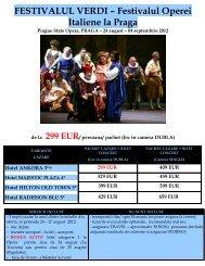 de la 299 EUR - Activ Tours ERP