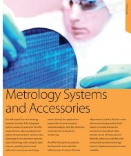M etro lo g y Our Mikropack line of metrology products ... - NDN
