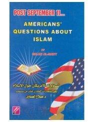 Americans' Questions about Islam (Salah Al-Sawy)