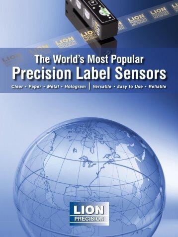 Label Sensor Catalog - Lion Precision