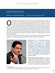 Valdecir Fernandes Pascoal — Conselheiro ... - Revista do TCE