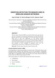 Insertion Detection Techniques Used In Wireless Sensor Networks