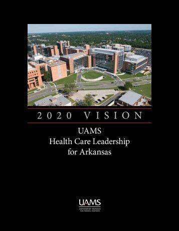 UAMS Strategic Plan - University of Arkansas for Medical Sciences