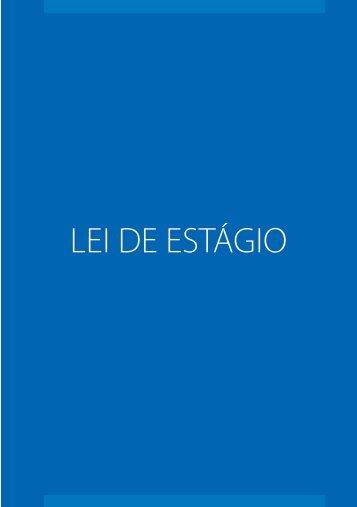 LEI DE ESTÁGIO - CNI