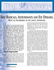 Free Radicals, Antioxidants and Eye Diseases - Ocean Pacific ...