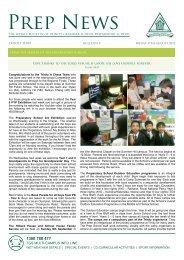Prep News - Trinity Grammar School