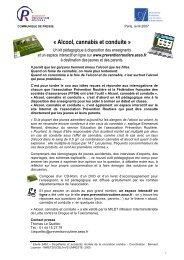 DP_Alcool_Cannabis_conduite - Association Prévention Routière