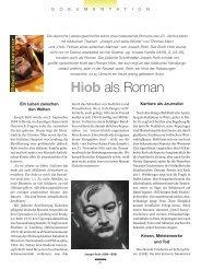 Hiob als Roman