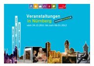 Adressen - Congress- und Tourismus-Zentrale Nürnberg