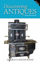 Discovering ANTIQUES