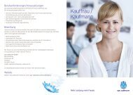 Kauffrau / Kaufmann - Cablecom GmbH