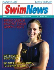 Jul - Aug 2002 View the PDF - Swimnews Online