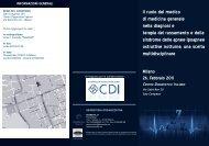 Il ruolo del medico di medicina generale nella diagnosi e ... - CDI