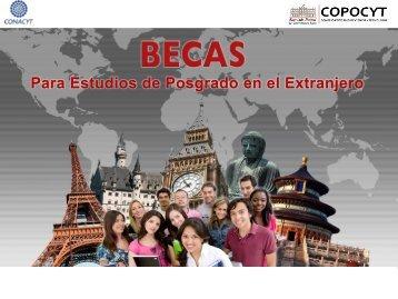 2015 - Programa de Becas CONACYT-COPOCYT