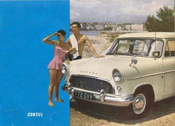 Ford Consul II - Wielka Brytania - 06.1958 - Capri.pl