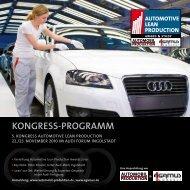 KONGRESS-PROGRAMM - Automobil Produktion