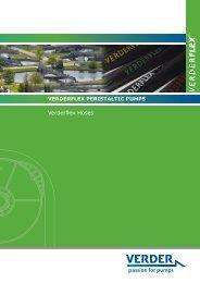 Verderflex Hoses - Peristaltic Pumps