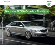 Der neue ŠKODA Octavia – Preisliste - FLOTTE & Wirtschaft