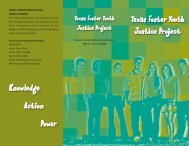 Foster Youth Brochure - Poverty Law Section