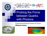photons - Student Projects in Nuclear Physics - University of ...