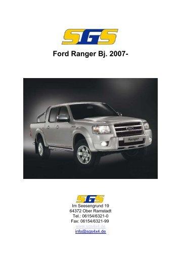 Ford Ranger Bj. 2007- - SGS
