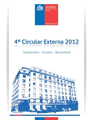 4º Circular Externa 2012 - Capredena