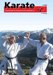 Fachzeitschrift des Deutschen Karate Verbandes e.V.