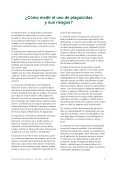 Pesticid pjece spansk tekst.indd - PAN Europe - Page 7