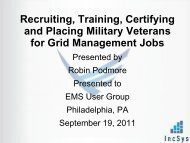 Recruiting, Training, Certifying And Placing Military - EMS Users ...