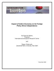 Impact of India's Economy on Its Foreign Policy Since Independence