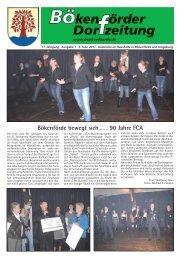 Bökenförder Dorfzeitung - in Bökenförde