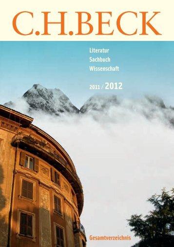 preisträger 2011 -  C.H. Beck