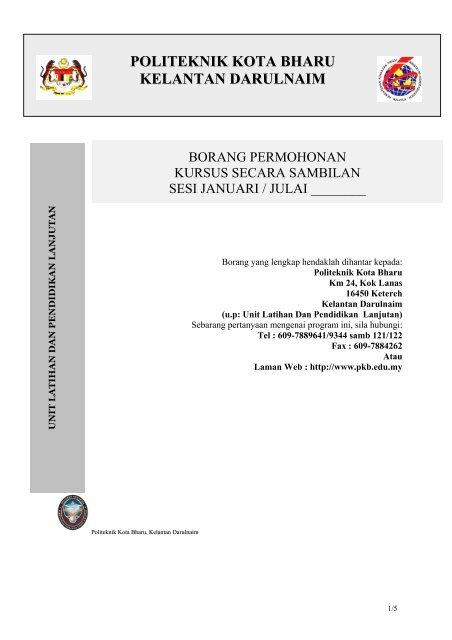 Kss Politeknik Kota Bharu