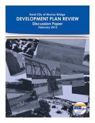 development plan review - Rural City of Murray Bridge - SA.Gov.au