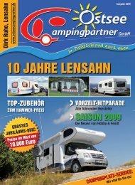 10 Jahre - Ostsee Campingpartner