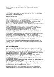 Informationen zum - Kinderwunschzentrum Wiesbaden