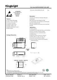 Description 2.2x1.4mm SURFACE MOUNT LED LAMP Features ...