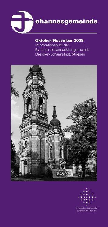 ohannesgemeinde - Ev.-Luth. Johanneskirchgemeinde Dresden ...