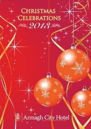 Christmas 2013 Brochure - Armagh City Hotel