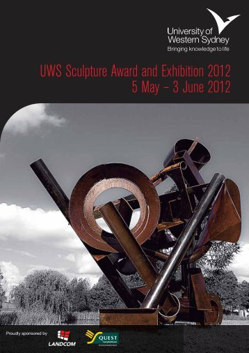 UWS Sculpture Award and Exhibition 2012 5 May – 3 ... - Art Gallery