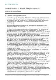 Erfahrungsbericht: 10 Jahre Pastoralauschuss - Katholische ...