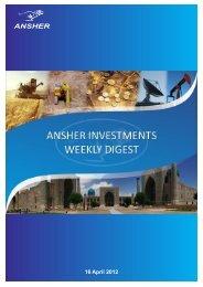 16 April 2012 - Ansher Holding Limited
