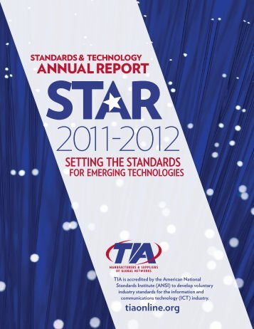 annual report - Telecommunications Industry Association